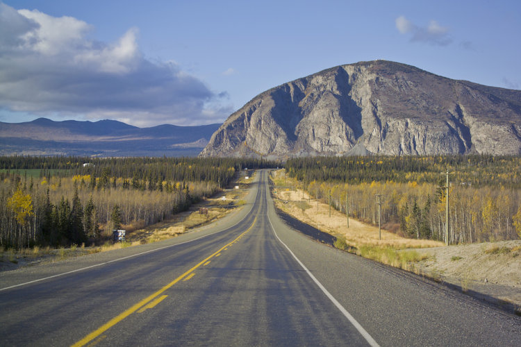 Alaska Highway, teritorium Yukon